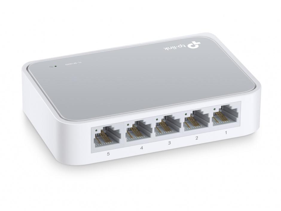 Imagine Switch 5 porturi 10/100 Mbps, TP-LINK TL-SF1005D