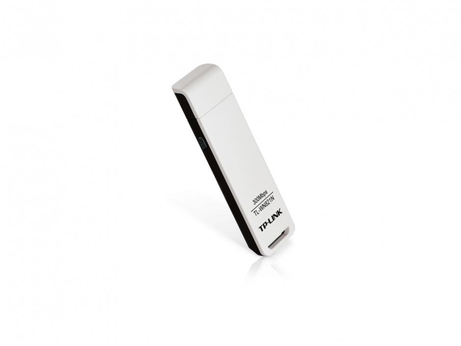 Imagine Placa Retea Wireless USB 300 Mb/s, TP-LINK TL-WN821N