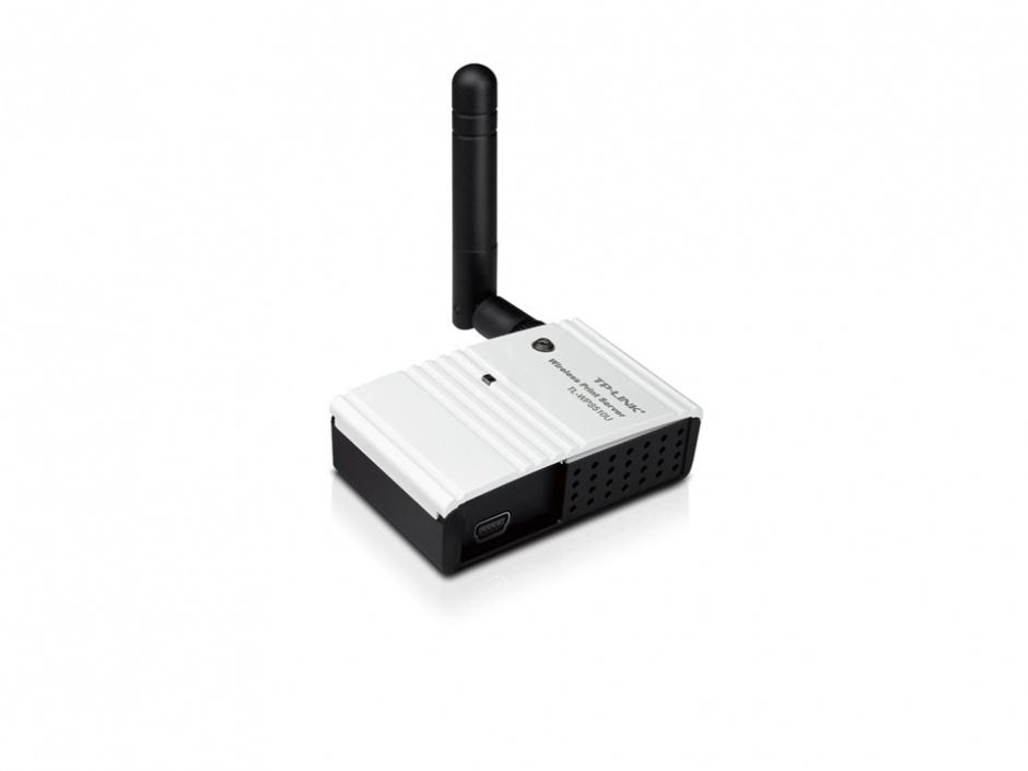 Imagine Print Server Wireless 54Mbps compact, TL-WPS510U