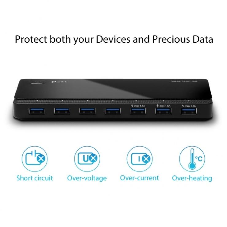 Imagine Hub USB 7 x USB 3.0, TP-LINK UH700-3