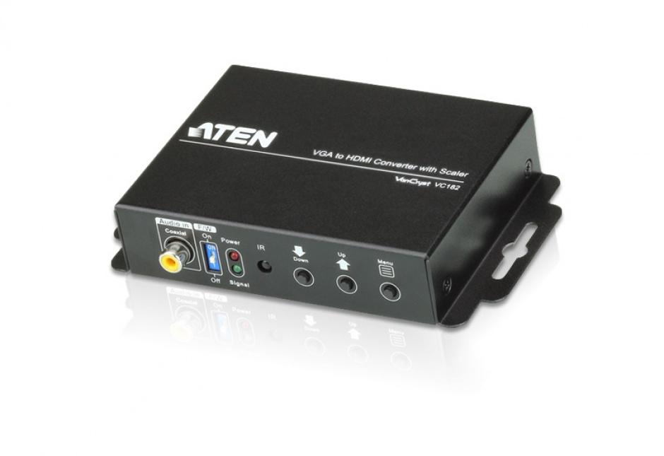 Imagine Convertor VGA la HDMI cu functie de scalare, ATEN VC182