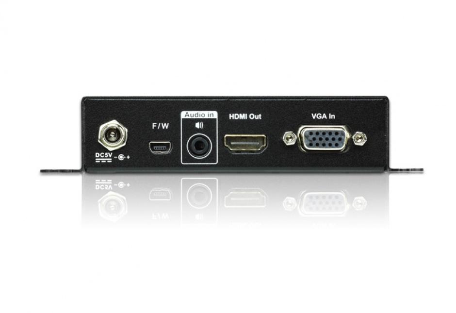 Imagine Convertor VGA la HDMI cu functie de scalare, ATEN VC182-1