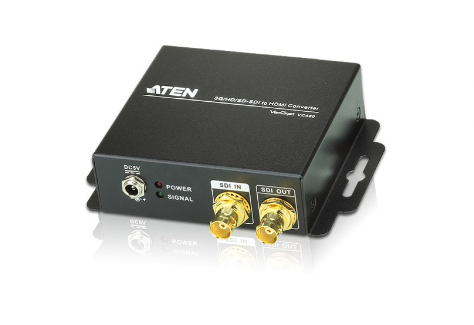 Imagine Convertor 3G / HD / SD-SDI la HDMI, ATEN VC480