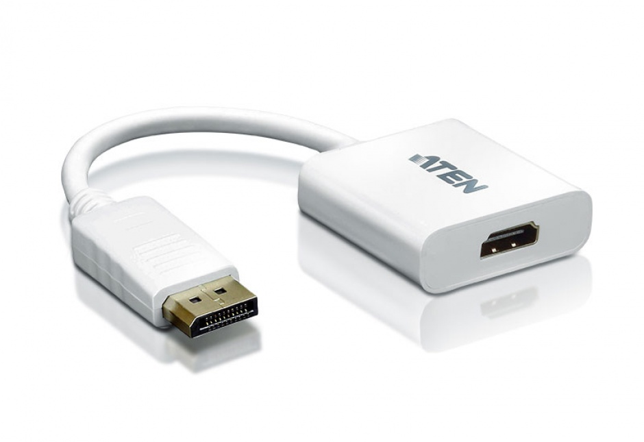 Imagine Adaptor Displayport la HDMI T-M Alb, ATEN VC985