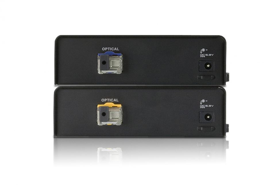 Imagine Extender fibra optica HDMI Full HD 600m, ATEN VE882