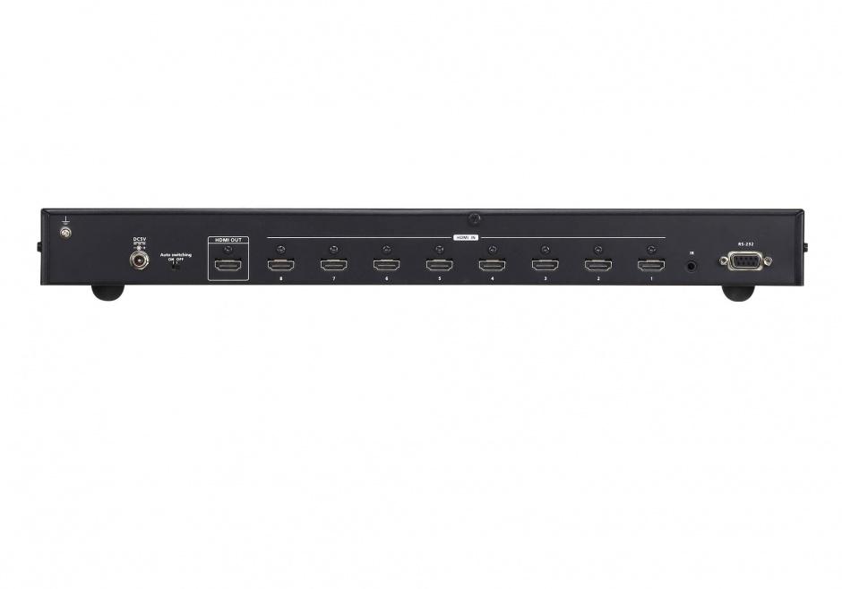 Imagine Switch HDMI cu 8 porturi True 4K, ATEN VS0801HB