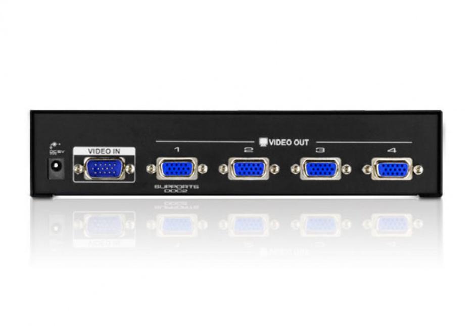 Imagine Multiplicator VGA 4 porturi 450 MHz, ATEN VS134A-1