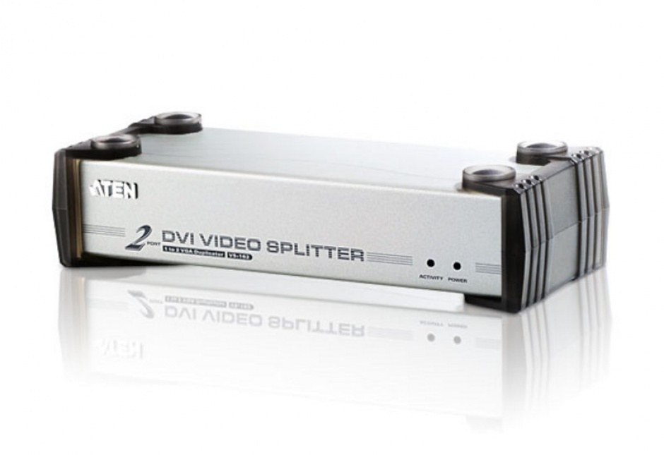 Imagine Multiplicator DVI 2 porturi cu audio, ATEN VS162