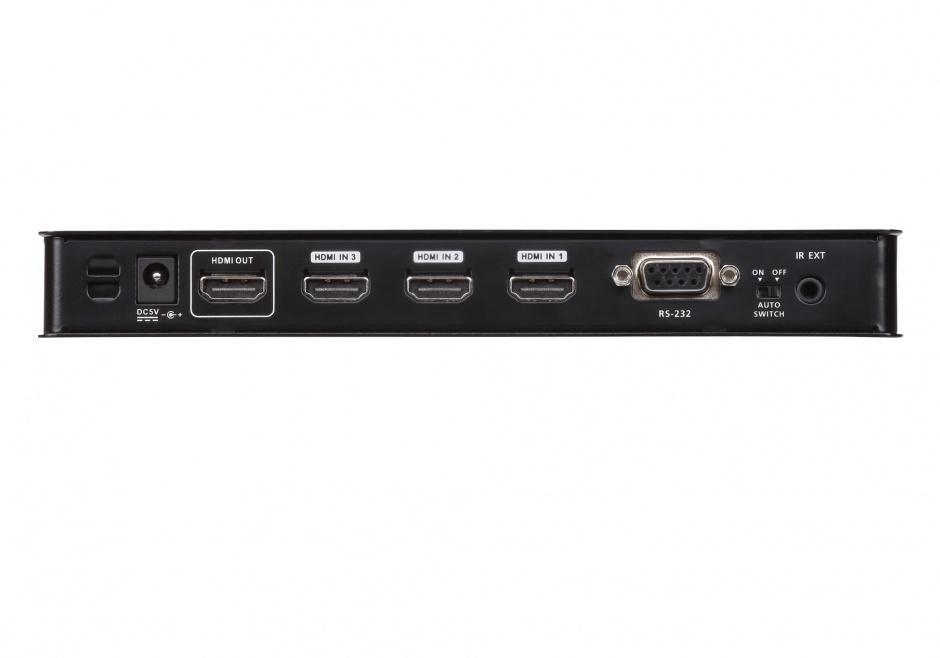 Imagine Switch HDMI cu 4 porturi True 4K,  ATEN VS481C