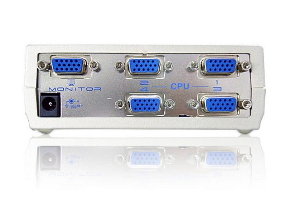 Imagine Switch VGA video 4 porturi, ATEN VS491-1