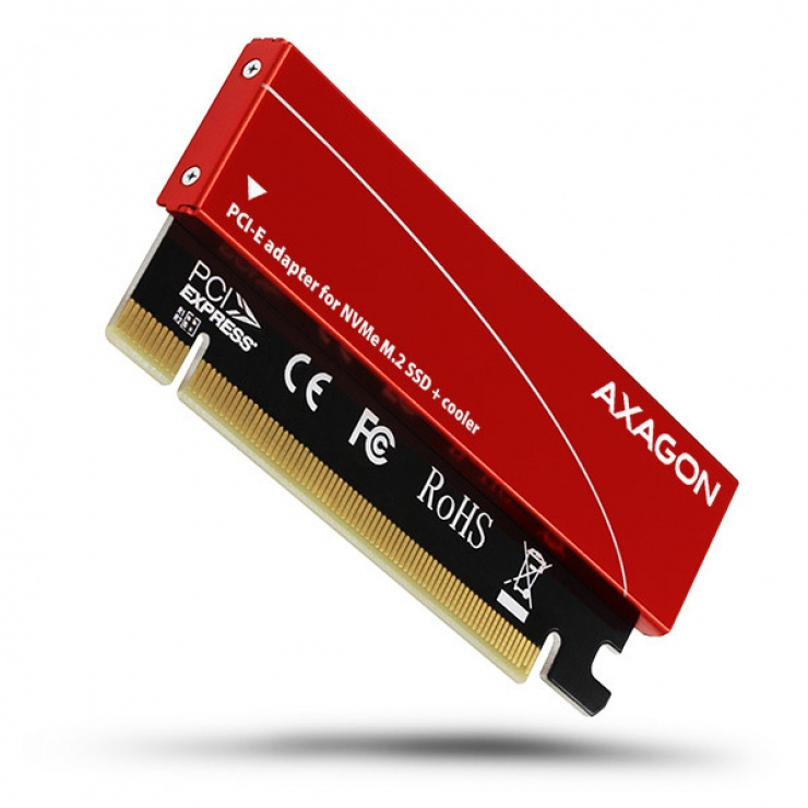 Imagine Adaptor PCI Express la M.2 NVME, Axagon PCEM2-S