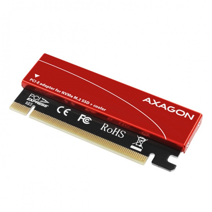 Imagine Adaptor PCI Express la M.2 NVME, Axagon PCEM2-S-1