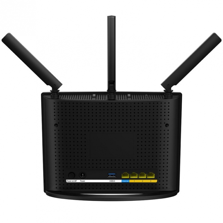 Imagine Router wireless Dual Band AC1900 3 antene 1900Mbps, Tenda AC15