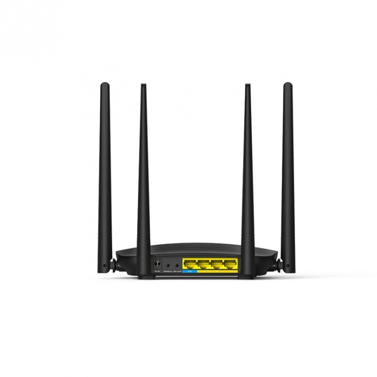 Imagine Router wireless Dual Band AC1200 4 antene 1200Mbps, Tenda AC5