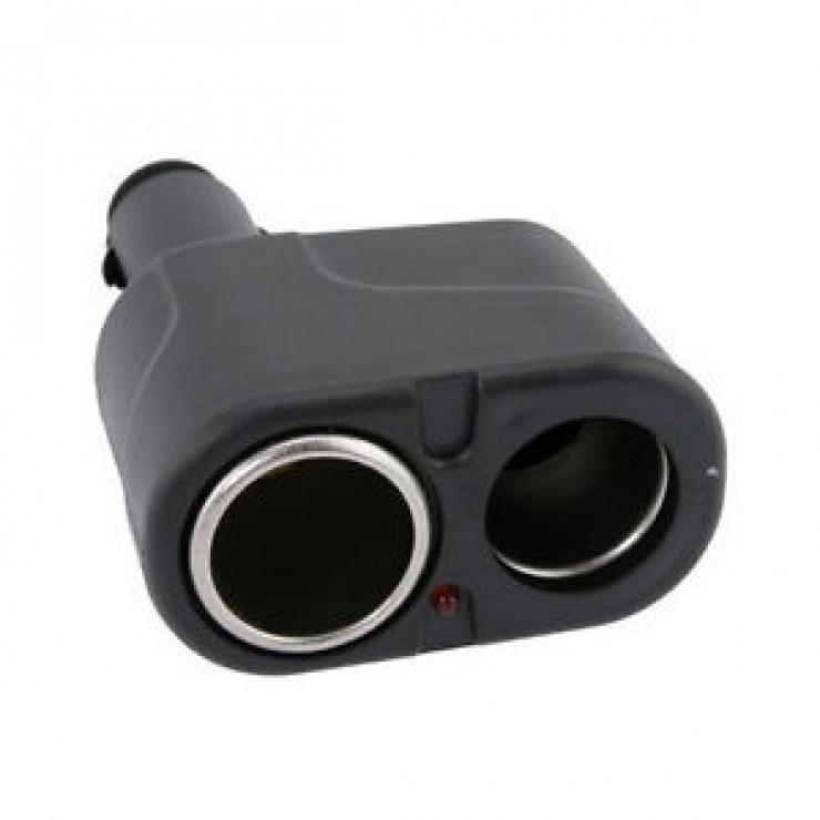 Imagine Adaptor auto pentru bricheta la 2 x bricheta, KCAR-01