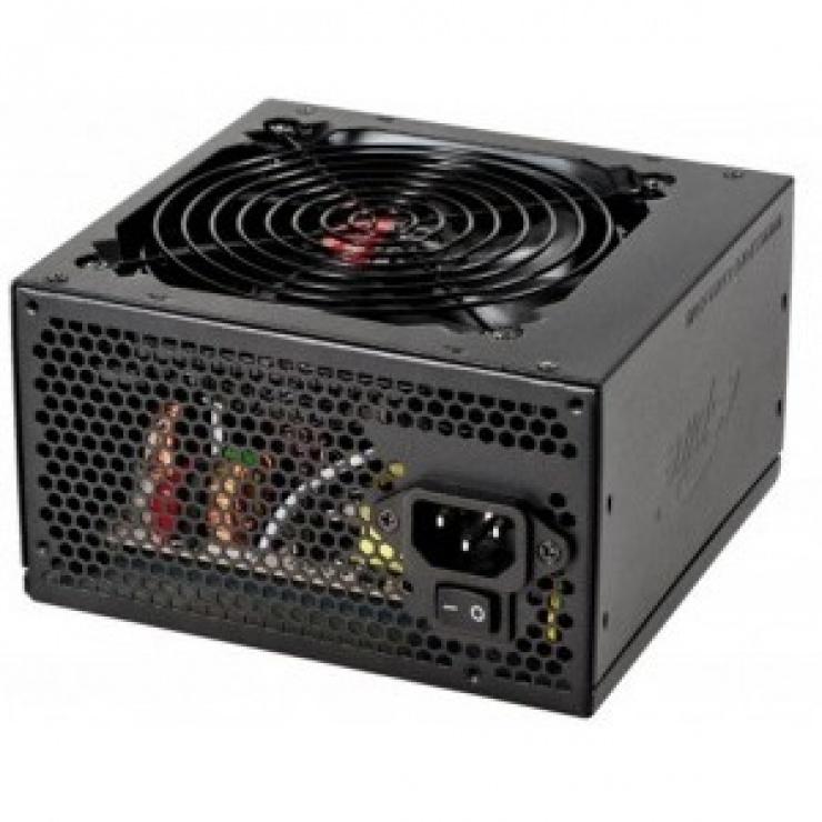 Imagine SURSA SPIRE PEARL 600, fan 120mm, 4x S-ATA, 2x IDE, 1x Floppy