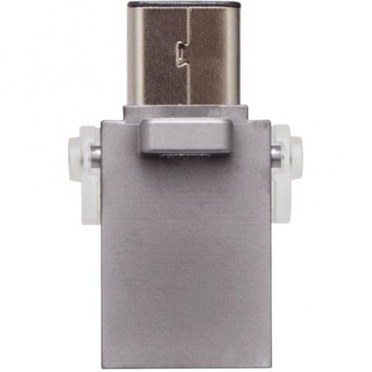 Imagine Stick USB 3.0 64GB DATA TRAVELER microDuo 3C OTG, Kingston DTDUO3C/64GB-1