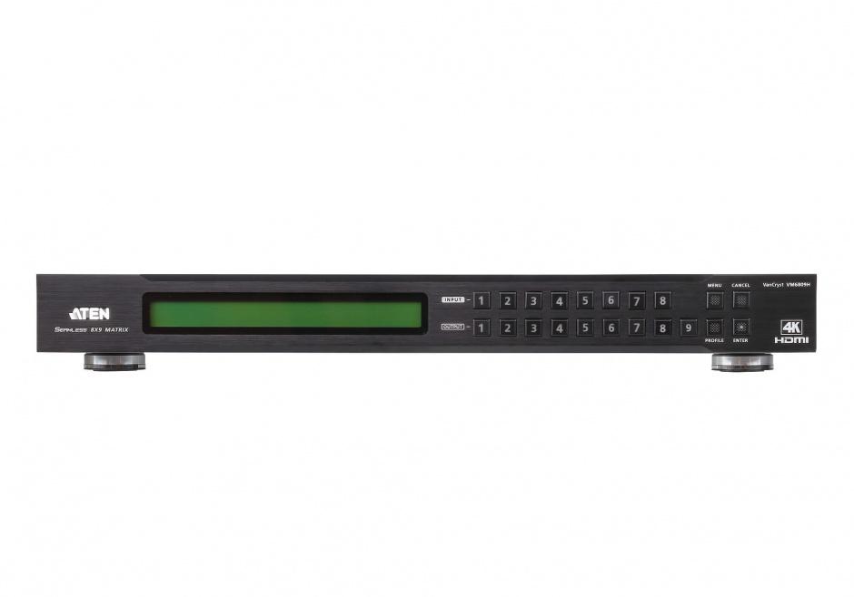 Imagine Matrix Switch HDMI 8x9 4K cu functie de scalare, ATEN VM6809H
