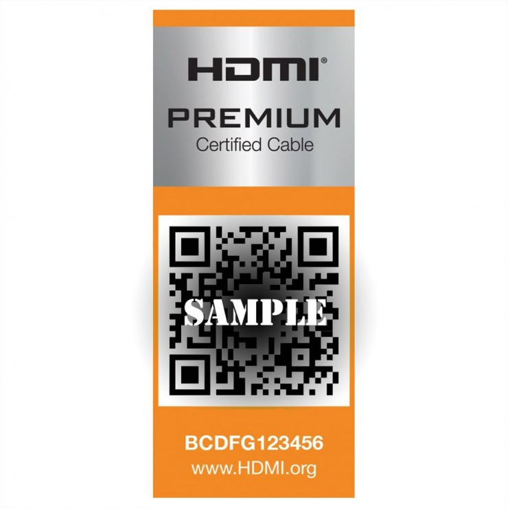Imagine Cablu HDMI Ultra HD Premium 4K60Hz T-T 9m, Roline 11.04.5806