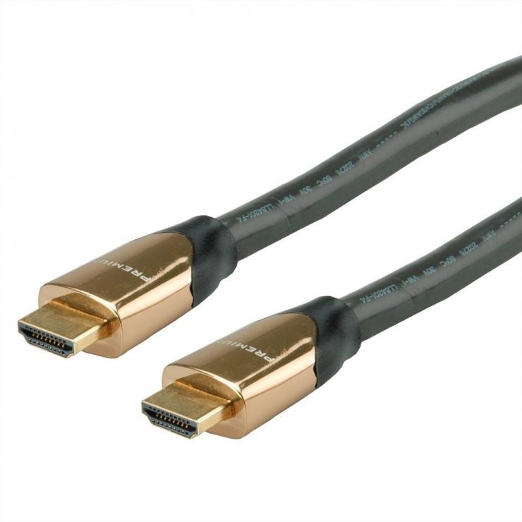 Imagine Cablu HDMI Ultra HD Premium 4K60Hz T-T 9m, Roline 11.04.5806