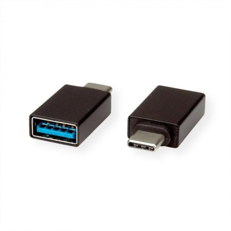 Imagine Adaptor USB 3.1-C la USB-A T-M, Roline 12.03.2997