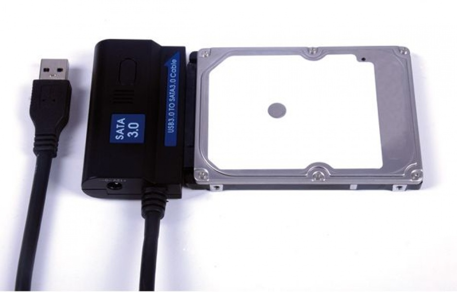 "Imagine Adaptor USB 3.0 la SATA III 1.2m pentru HDD/SSD 2.5""+3.5"", Value 12.99.1049-3"