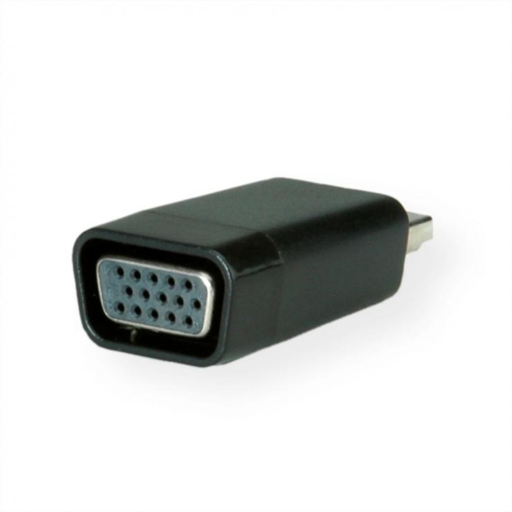 Imagine Adaptor HDMI la VGA T-M, Value 12.99.3113