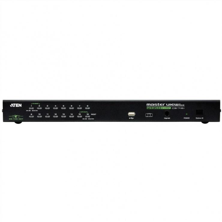 Imagine Distribuitor KVM over IP 16 porturi PS/2-USB, Aten CS1716i-3