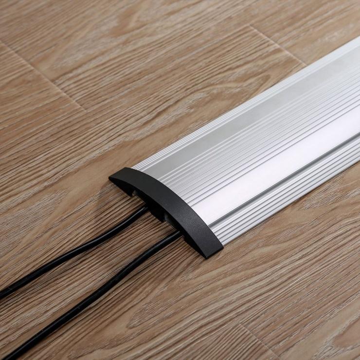 Imagine Canal cablu aluminiu 1104 x 139mm, Roline 19.08.3106