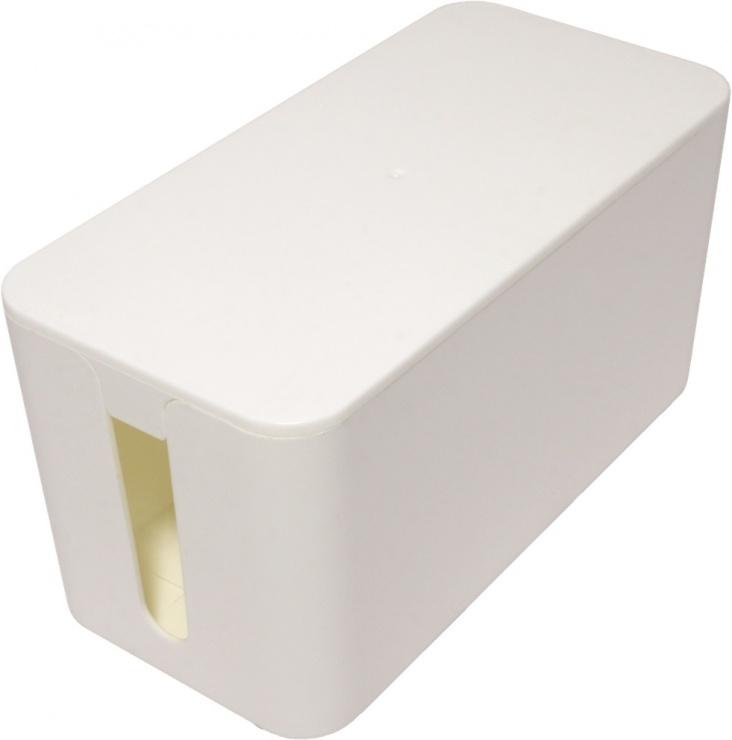 Imagine Cutie pentru organizarea cablurilor alba 235 x 115 x 120 mm, Value 19.99.3236