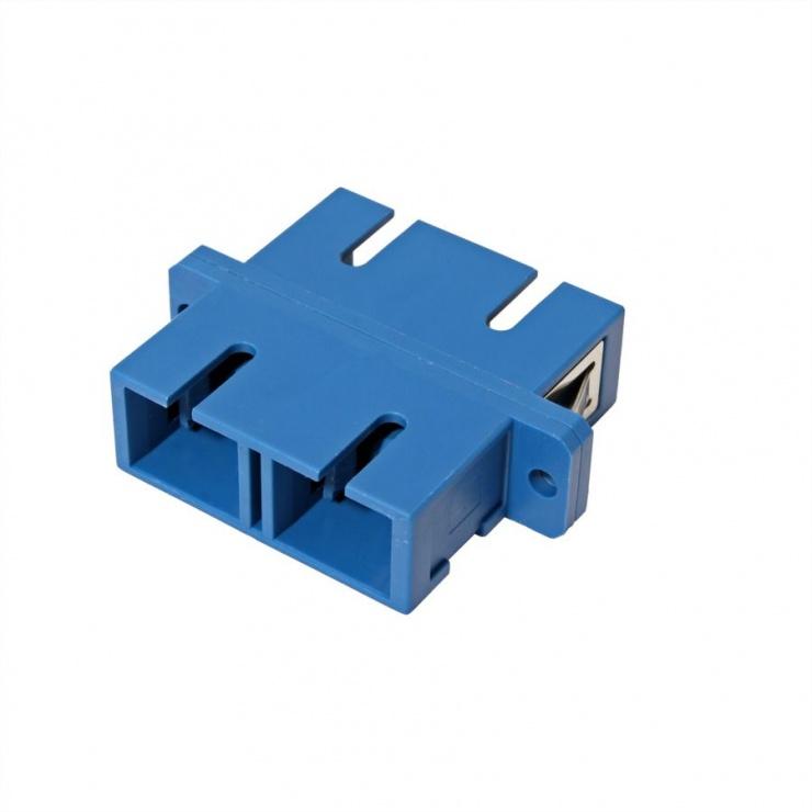 Imagine Adaptor fibra optica SC-SC Duplex OS2, Value 21.99.0657-3