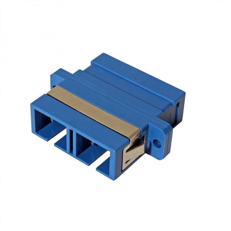 Imagine Adaptor fibra optica SC-SC Duplex OS2, Value 21.99.0657-1