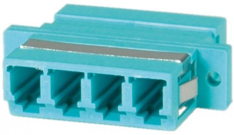 Imagine Adaptor fibra optica LC-LC OM3 cvadruplu, Value 21.99.0660