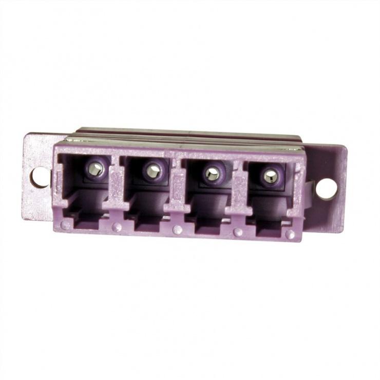 Imagine Adaptor fibra optica LC-LC OM4 cvadruplu, Value 21.99.0661-1
