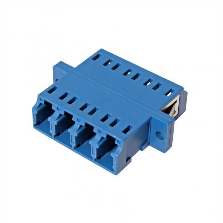 Imagine Adaptor fibra optica LC-LC OS2 cvadruplu, Value 21.99.0662-1