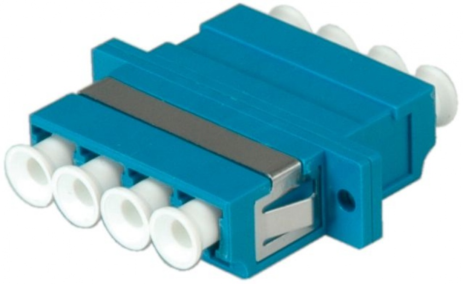 Imagine Adaptor fibra optica LC-LC OS2 cvadruplu, Value 21.99.0662-4