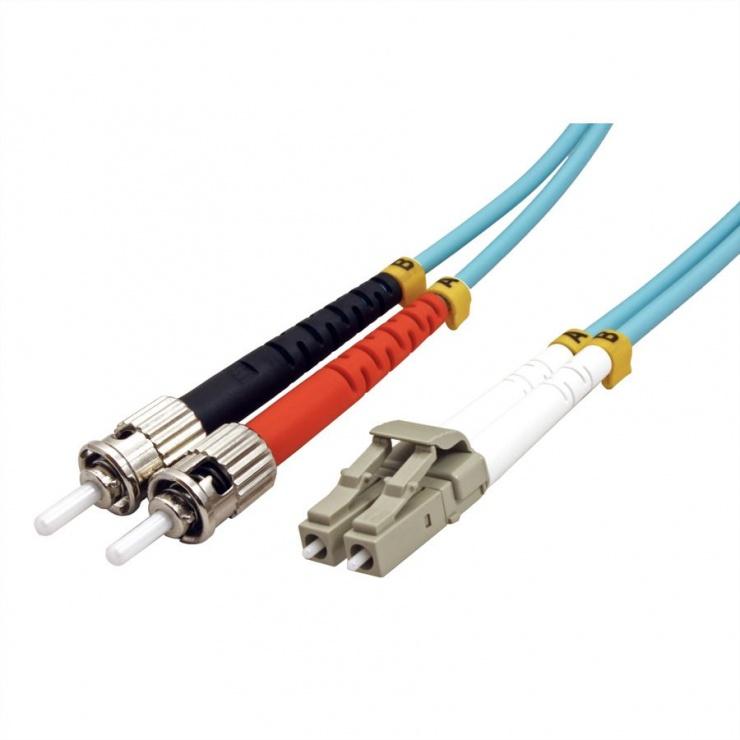 Imagine Cablu fibra optica LC-ST OM3 duplex multimode 5m, Value 21.99.8725-1