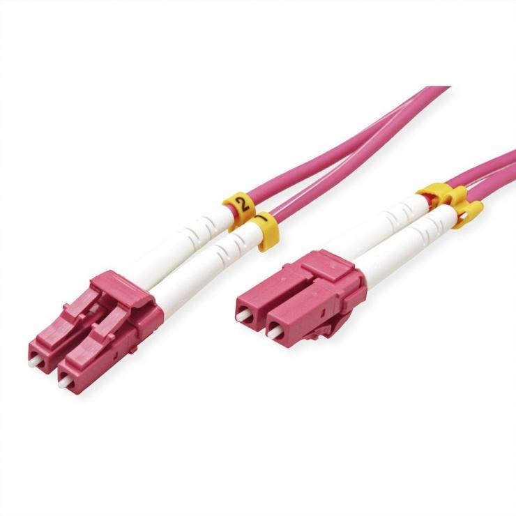 Imagine Cablu fibra optica LC-LC OM4 duplex multimode 10m, Value 21.99.8758