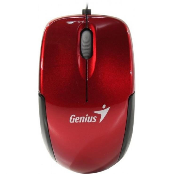 Imagine Mouse notebook Micro Traveler v2 USB Ruby, Genius