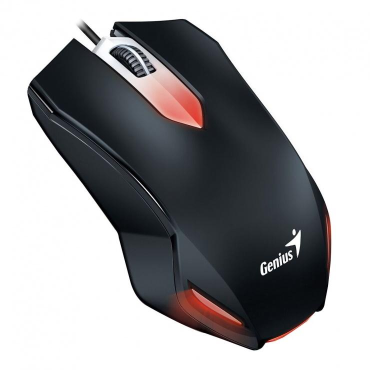 Imagine Kit Gaming 3 in 1 fir Tastatura KMH-200 + Mouse KMH-200 + Casti HS-G500, Genius