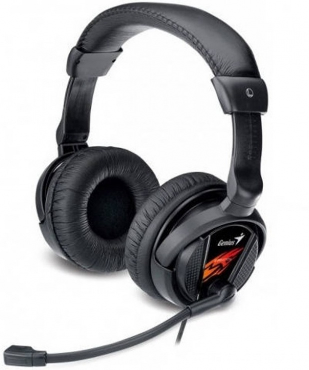 Imagine Casti stereo cu microfon, Vibration, Genius HS-G500V