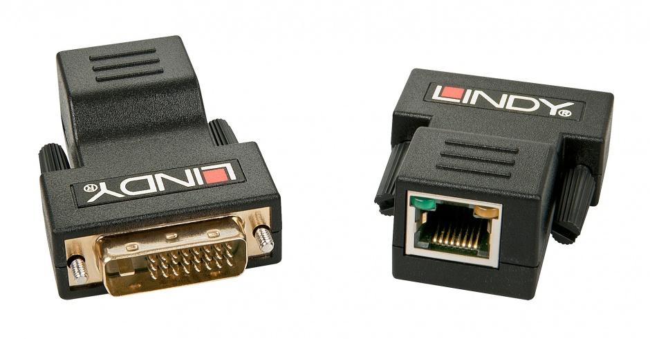 Imagine Extender DVI cat 5e/6 50m, Lindy L38300