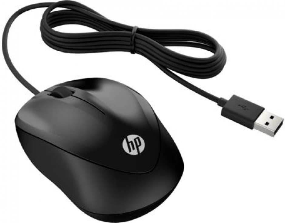 Imagine Mouse optic USB Negru, HP X1000