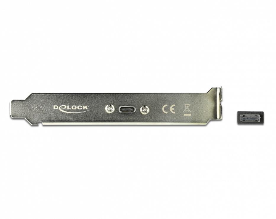Imagine Bracket cu 1 x USB-C 20V/3A, Delock 89936-2