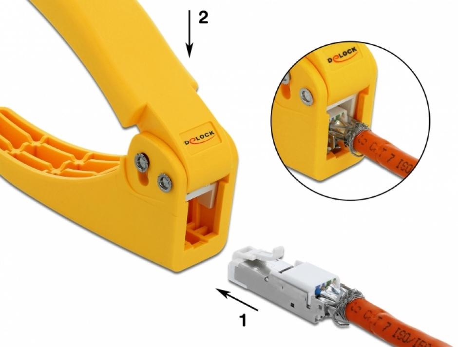 Imagine Cleste pentru conectori de retea 86265, 86295, 86465, 86495, Delock 86475-2