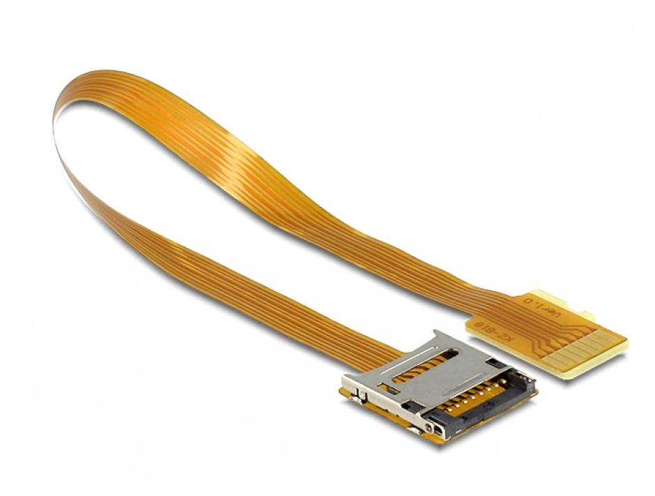 Imagine Cablu prelungitor Micro SD T-M 16cm, Delock 61870