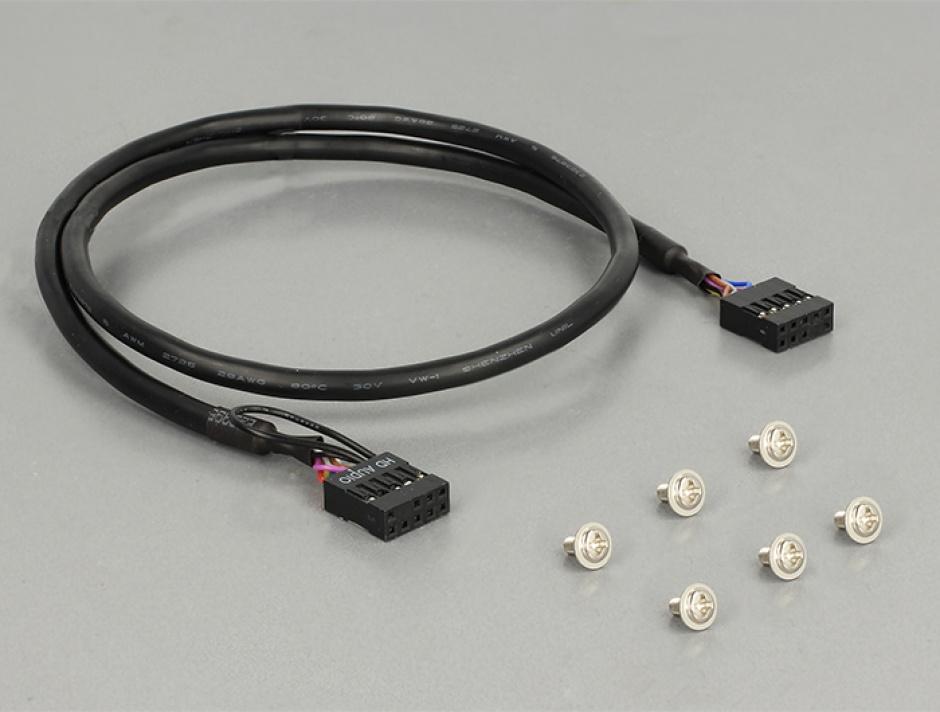 "Imagine Front Panel 3.5"" la 2 x USB 3.0 + HD-Audio, Delock 62700"