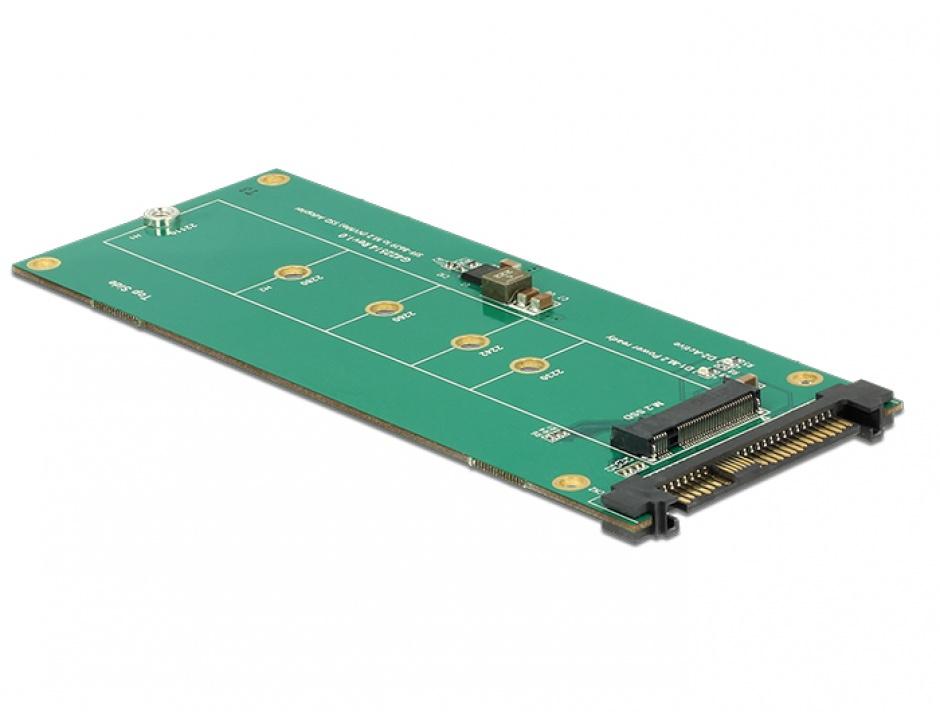 Imagine Convertor U.2 SFF-8639 NVMe la 1 x M.2 Key M, Delock 62865