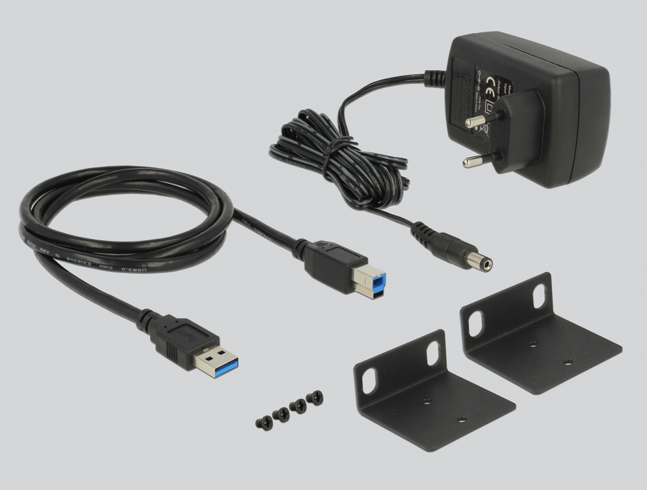 "Imagine Hub industrial 19"" 13 porturi USB 3.1-A Gen 1, Delock 64039"