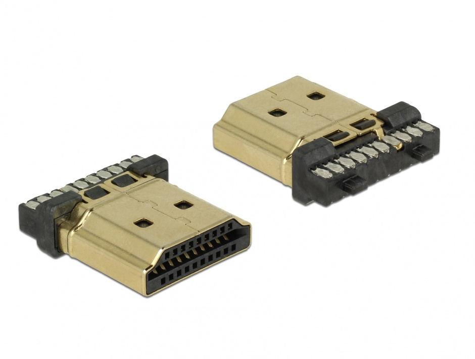 Imagine Conector de lipit HDMI-A tata, Delock 65886